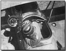 German observer with a Parabellum Gun