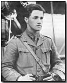 British air ace Captain Albert Ball