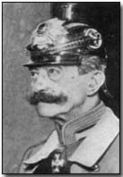 German Military Governor of Belgium, Ferdinand von Bissing