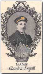 Bookmark of Captain Charles Fryatt
