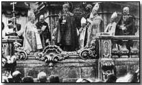 The coronation of Austro-Hungarian Emperor Karl I