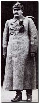 Leon Trotsky in uniform, 1918