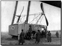 Armoured car of a French dirigible