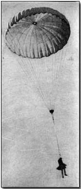 "British balloonist ""bailing out"""