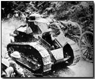 French Renault light tank