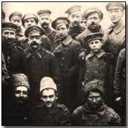 German and Russian soldiers together on the Eastern front, Christmas 1914