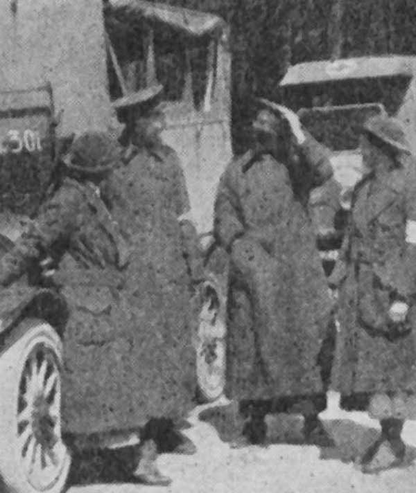 During the war women were to be found mostly at the home front while a