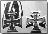 Hitler's Iron Crosses (click to enlarge)