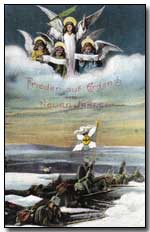 German postcard from Christmas 1914 (copyright Simon Rees, click to enlarge)