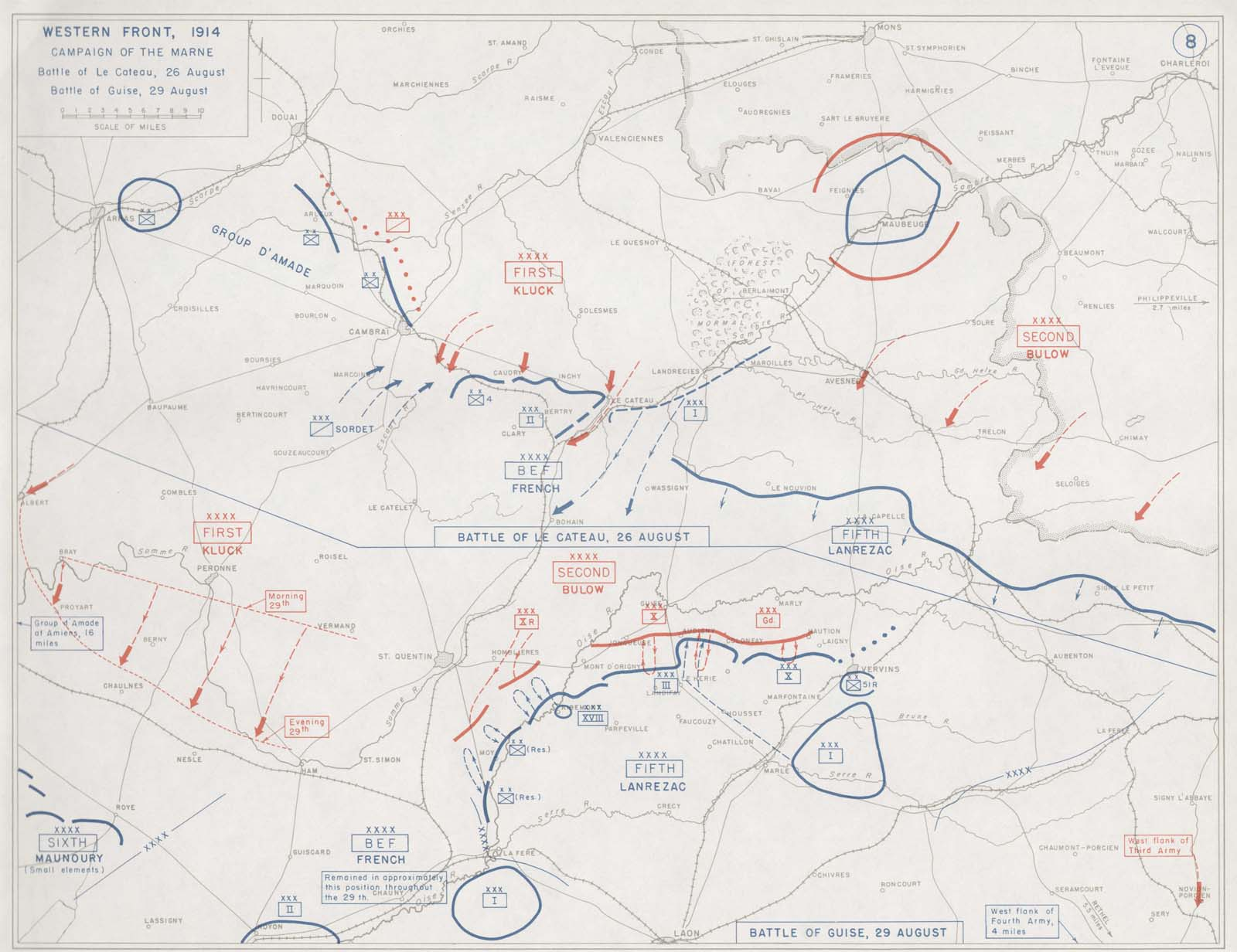 Second Battle Of The Marne Map