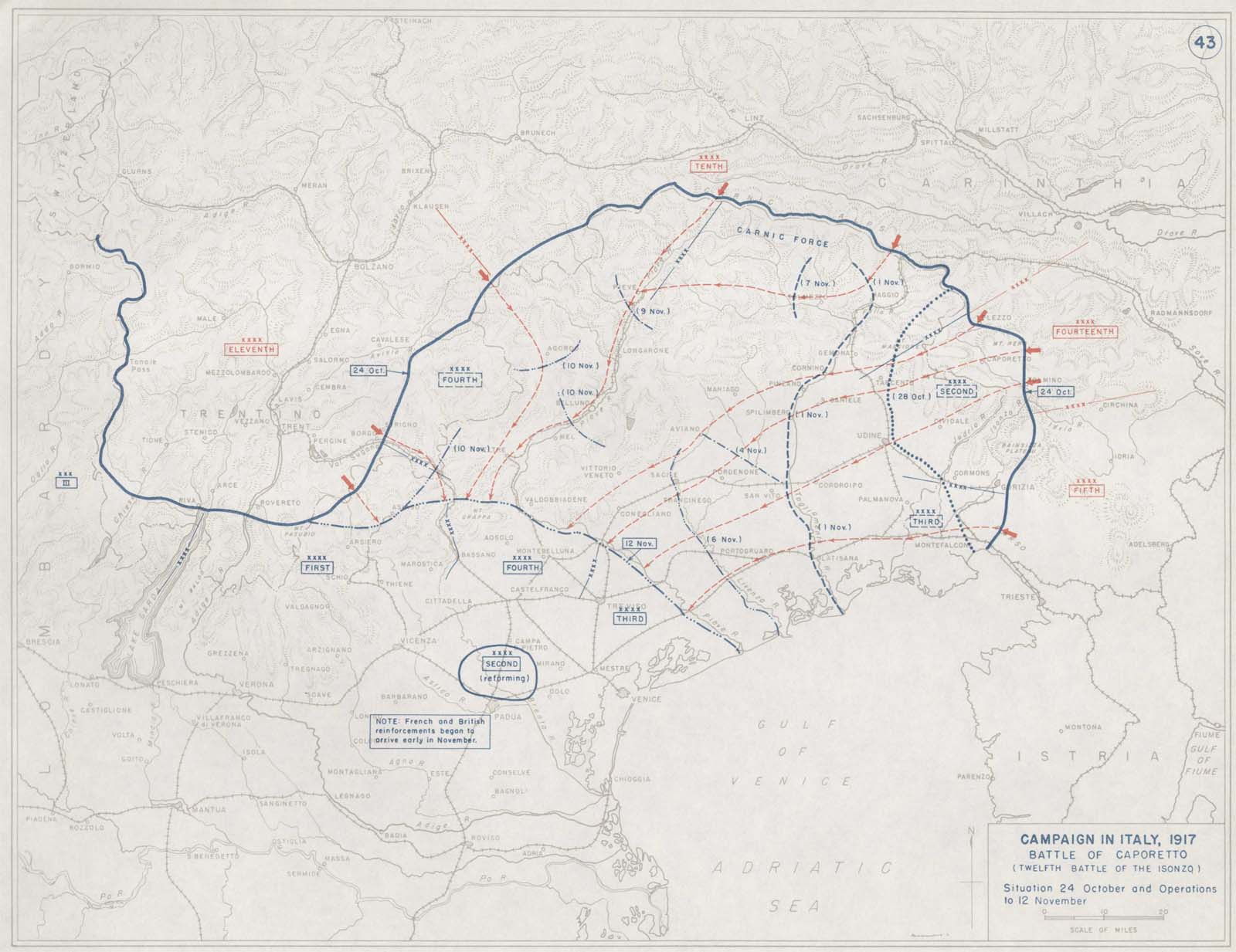 First world war battlefield maps italian front battlefield maps italian front the italian front gumiabroncs Gallery