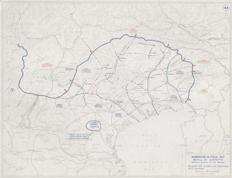 First world war battlefield maps italian front view map gumiabroncs Gallery