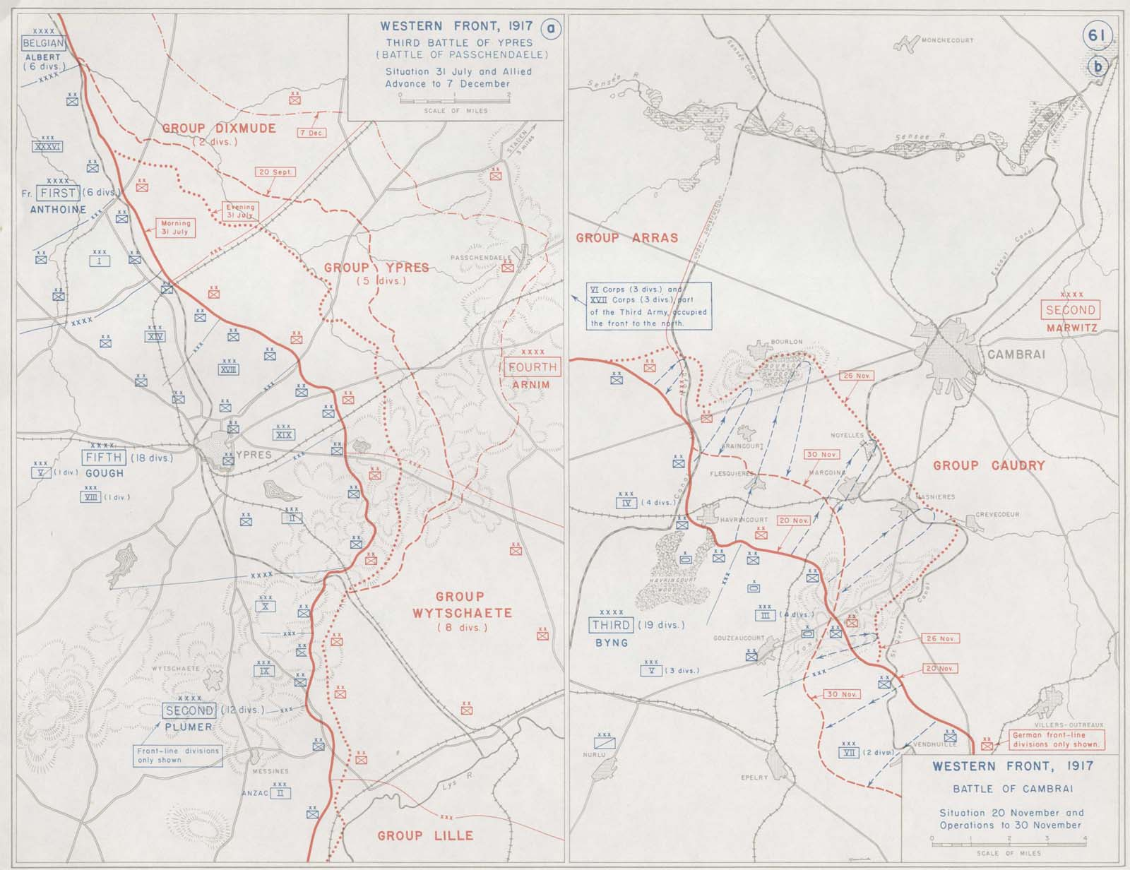 First World War.com - Battles - The Battle of Cambrai, 1917