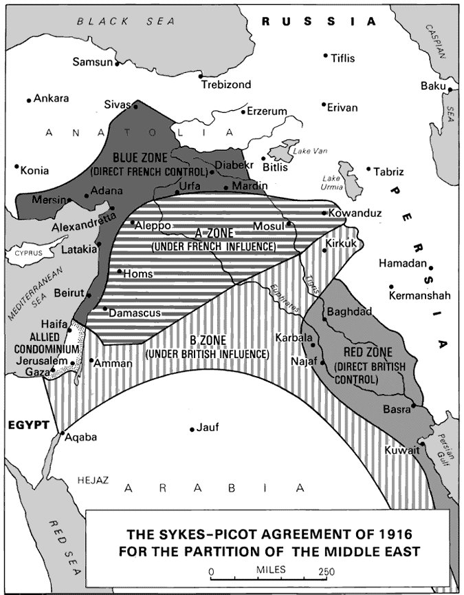 First World War Primary Documents Sykes Picot Agreement 16