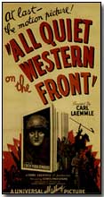 "Promotional poster for ""All Quiet on the Western Front"" (1930)"