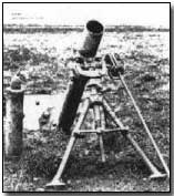The Stokes mortar named after its inventor, Siir Wilfred Stokes